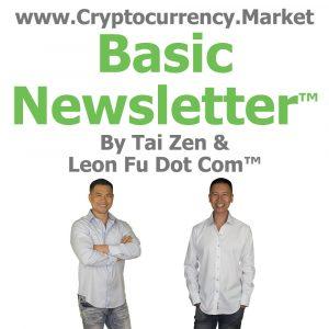 Cryptocurrency Market Basic Newsletter