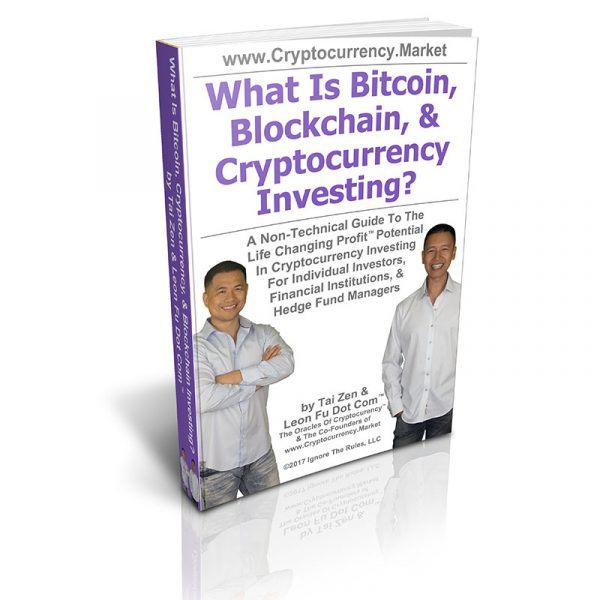 What Is Bitcoin, Blockchain & Cryptocurrency Investing Book