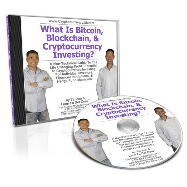 What Is Bitcoin, Blockchain & Cryptocurrency Investing CD