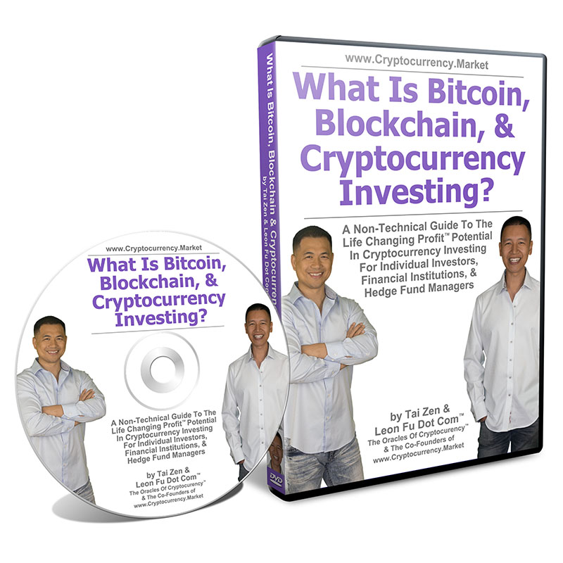 What Is Bitcoin, Blockchain & Cryptocurrency Investing DVD